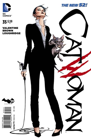 Catwoman Cover - 12/1/2014