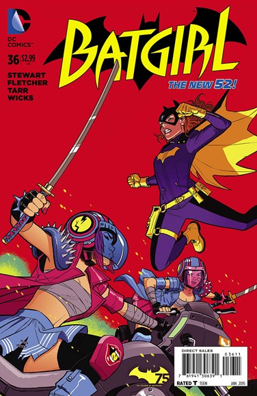 Batgirl Cover - 1/1/2015