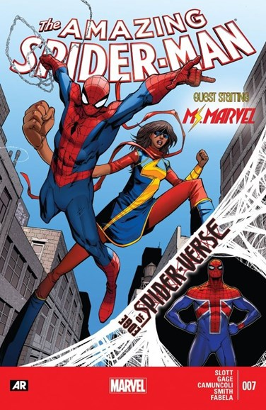 Amazing Spider-Man Cover - 12/1/2014