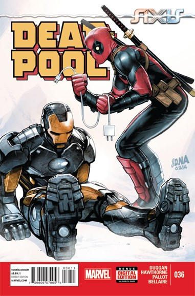 Deadpool Cover - 12/1/2014