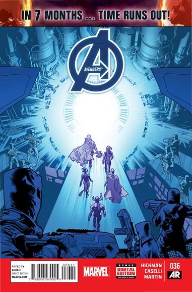 Avengers Cover - 12/1/2014