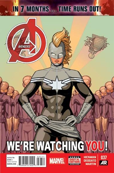 Avengers Cover - 12/15/2014