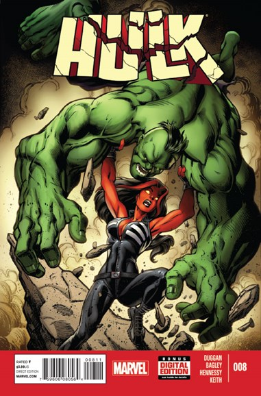 Immortal Hulk Cover - 1/1/2015