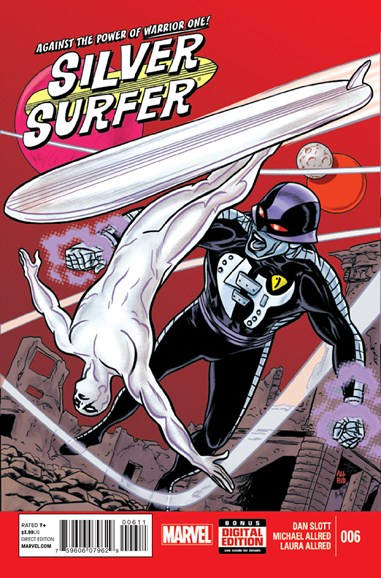 Silver Surfer Cover - 11/1/2014