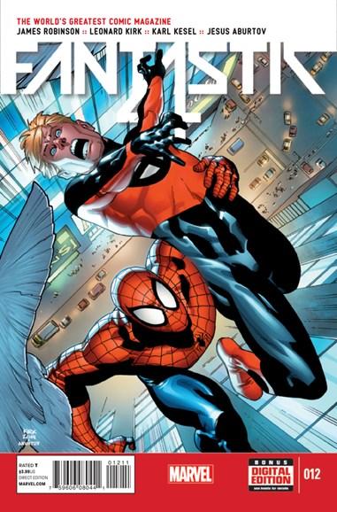 Fantastic Four Cover - 12/15/2014