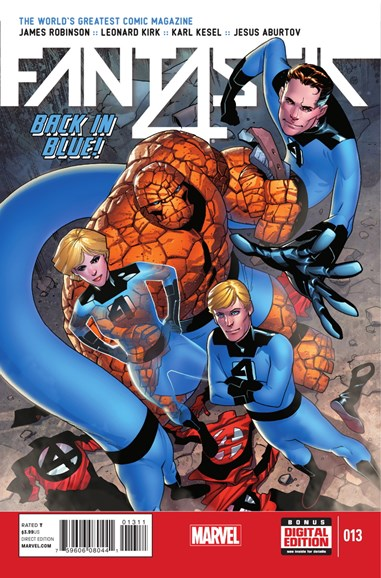 Fantastic Four Cover - 1/1/2015