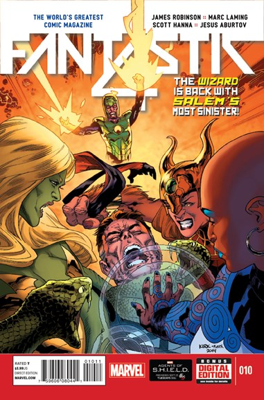 Fantastic Four Cover - 11/1/2014