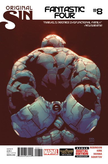Fantastic Four Cover - 10/1/2014