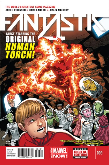 Fantastic Four Cover - 10/15/2014
