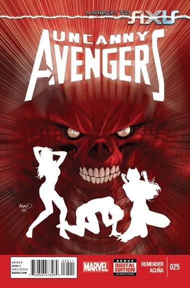 Uncanny Avengers Cover - 12/1/2014