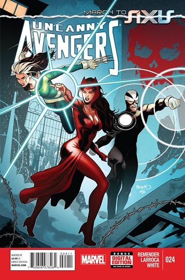 Uncanny Avengers Cover - 11/1/2014