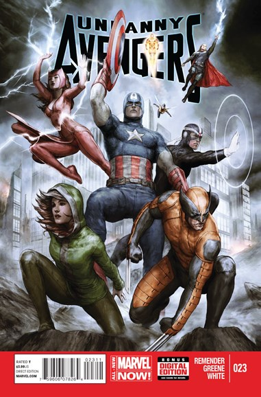 Uncanny Avengers Cover - 10/1/2014