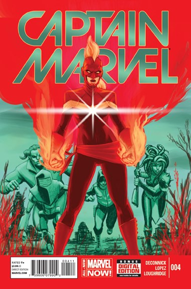 Captain Marvel Cover - 8/1/2014