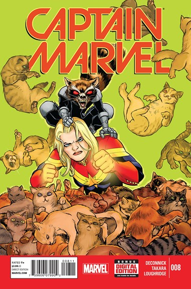 Captain Marvel Cover - 12/1/2014