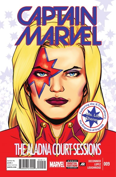 Captain Marvel Cover - 1/1/2015