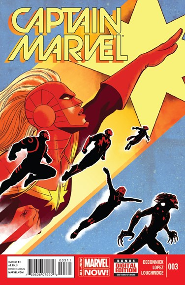 Captain Marvel Cover - 7/1/2014