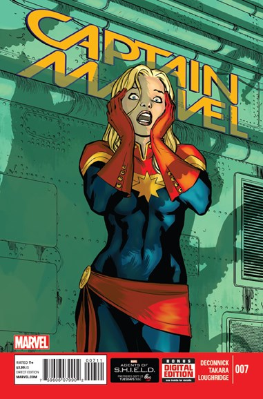 Captain Marvel Cover - 11/1/2014