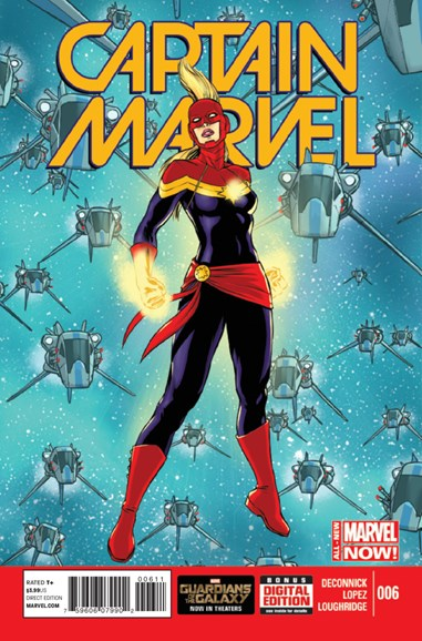 Captain Marvel Cover - 10/1/2014