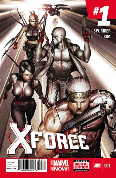 X-Force Cover - 4/1/2014
