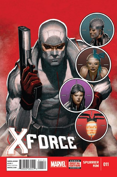 X-Force Cover - 12/15/2014