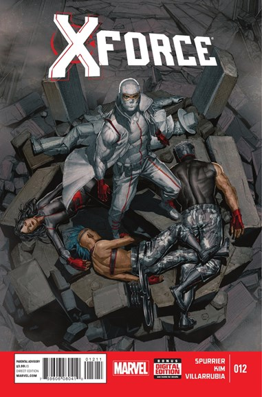 X-Force Cover - 1/1/2015