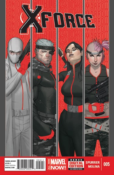 X-Force Cover - 7/1/2014