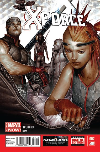 X-Force Cover - 5/1/2014