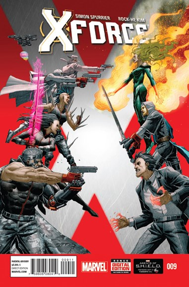 X-Force Cover - 11/1/2014