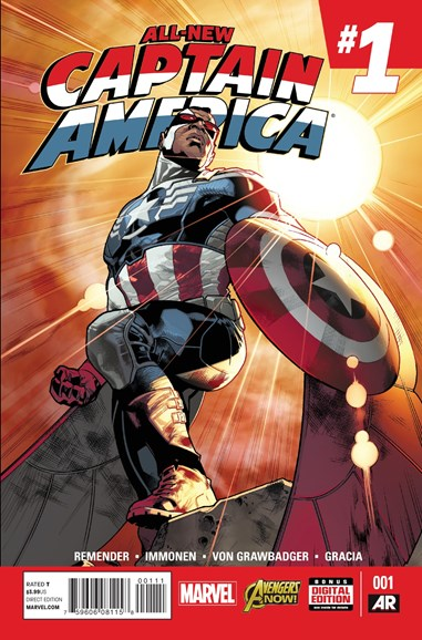 Captain America Cover - 1/1/2015