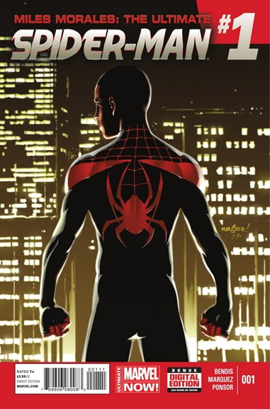 Miles Morales: Spider-Man Cover - 7/1/2014