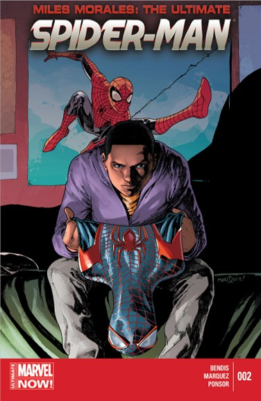 Miles Morales: Spider-Man Cover - 7/15/2014