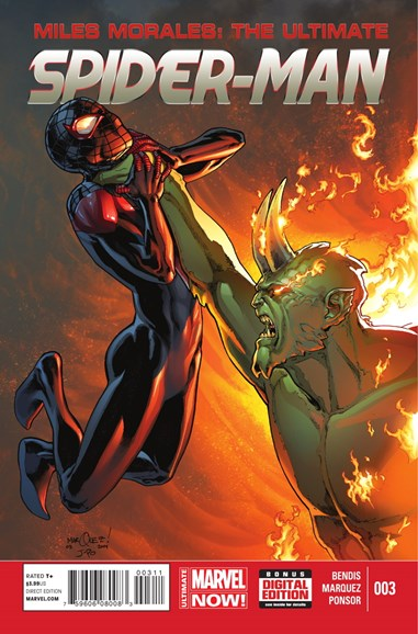 Miles Morales: Spider-Man Cover - 9/1/2014