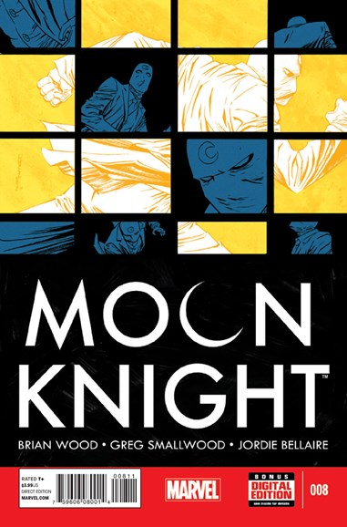 Moon Knight Cover - 12/1/2014