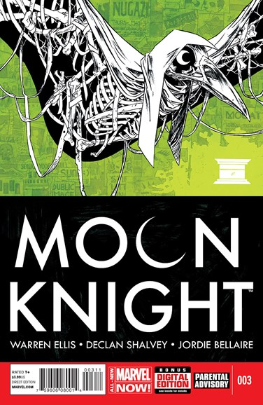 Moon Knight Cover - 7/1/2014