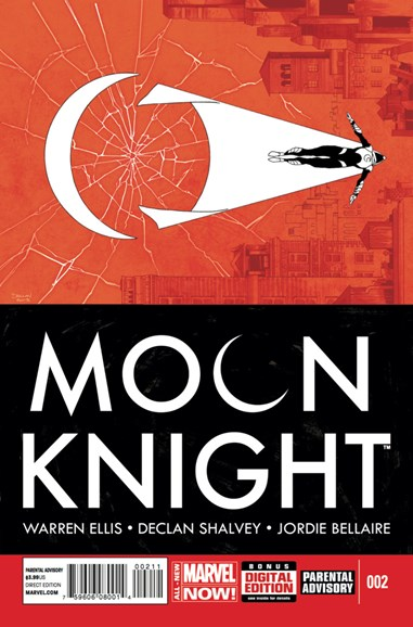 Moon Knight Cover - 6/1/2014