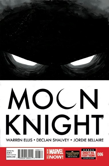 Moon Knight Cover - 10/1/2014