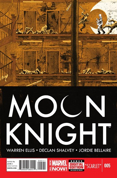 Moon Knight Cover - 9/1/2014
