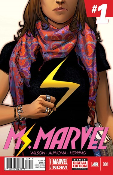 Magnificent Ms. Marvel Cover - 4/1/2014