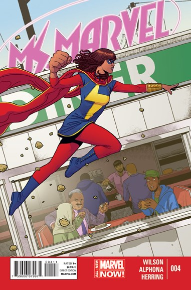 Magnificent Ms. Marvel Cover - 7/1/2014