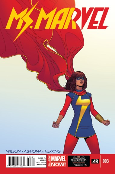 Magnificent Ms. Marvel Cover - 6/1/2014