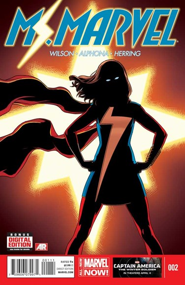 Magnificent Ms. Marvel Cover - 5/1/2014