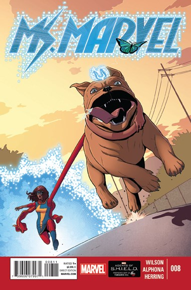 Magnificent Ms. Marvel Cover - 11/1/2014