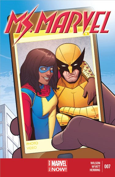 Magnificent Ms. Marvel Cover - 10/1/2014