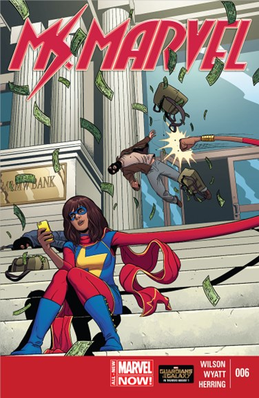 Magnificent Ms. Marvel Cover - 9/1/2014