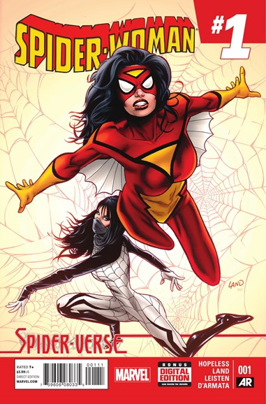 Spider-Woman Cover - 1/1/2015