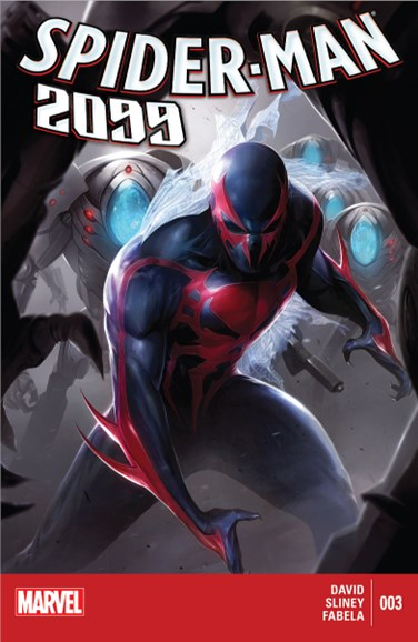 Spider-Man 2099 Cover - 11/1/2014