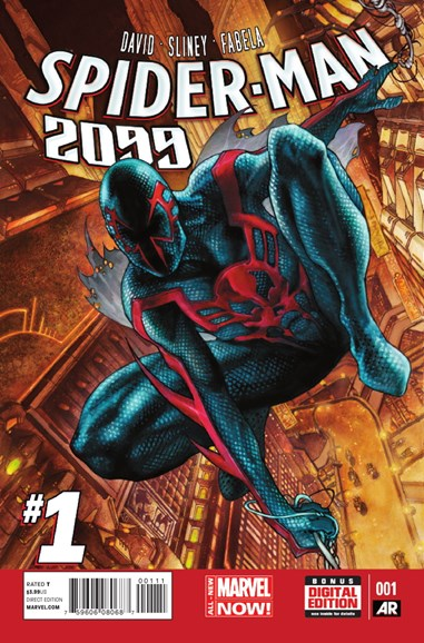 Spider-Man 2099 Cover - 9/1/2014