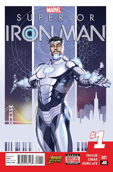 Tony Stark: Iron Man Cover - 1/1/2015