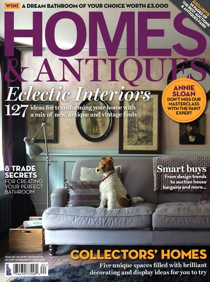 Homes & Antiques Cover - 11/1/2014