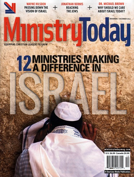 Ministry Today Cover - 11/1/2014
